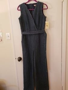 Reba Jeans - NWT Sleeveless Westward Canyon Dark Wash Jumpsuit